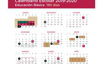 Calendario Academico 2020 18.Top 10 Punto Medio Noticias Calendario Ciclo Escolar 2019 A 2020