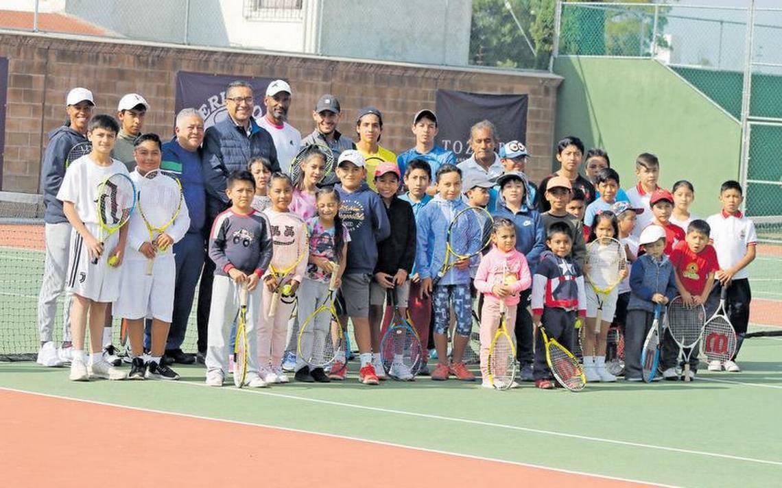 Realizan clínica de tenis en El Sabinal - El Sol de Tlaxcala