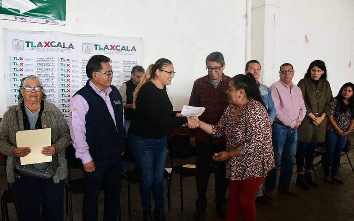 Dan apoyo al agro en Tlaxco - El Sol de Tlaxcala