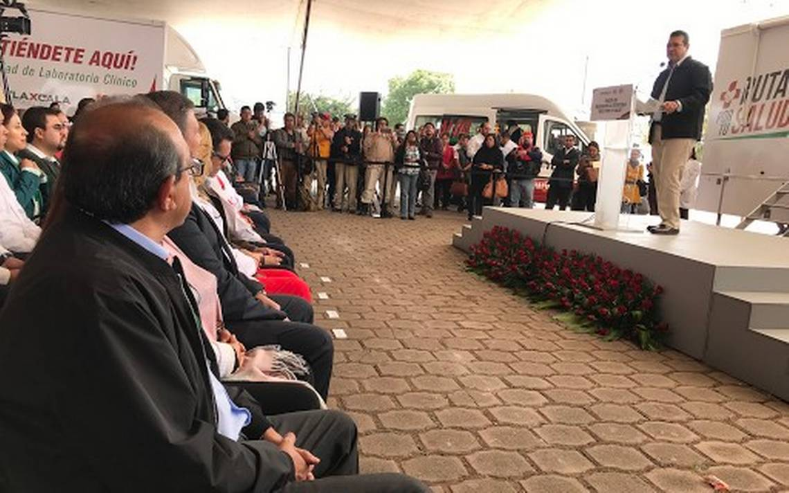 """Pone en marcha Marco Mena la """"Ruta por tu Salud"""" en Tlaxco; recorrerá todo Tlaxcala - El Sol de Tlaxcala"""