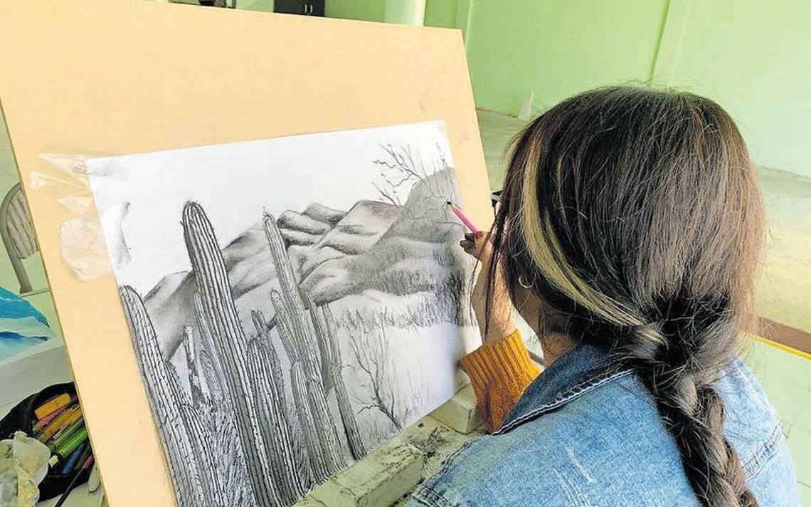 Krauze imparte taller de dibujo en Atltzayanca - El Sol de Tlaxcala