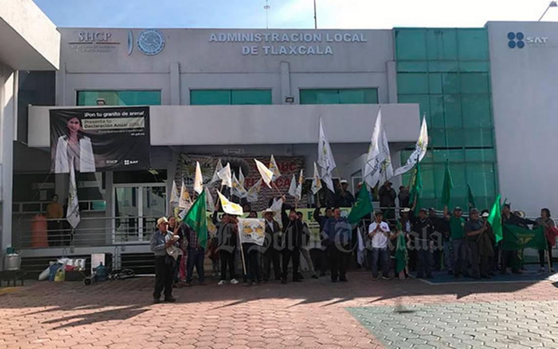 Toman Organizaciones Campesinas Oficinas Del Sat En Tlaxcala