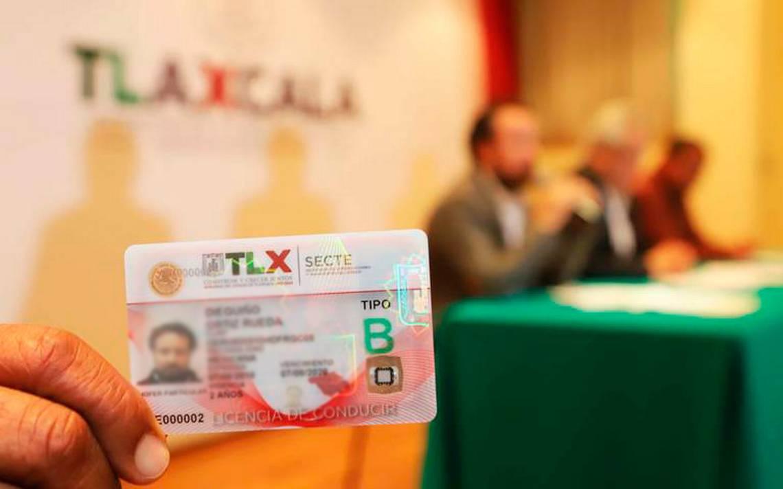 Tendrá Tlaxcala Nueva Licencia De Conducir Para