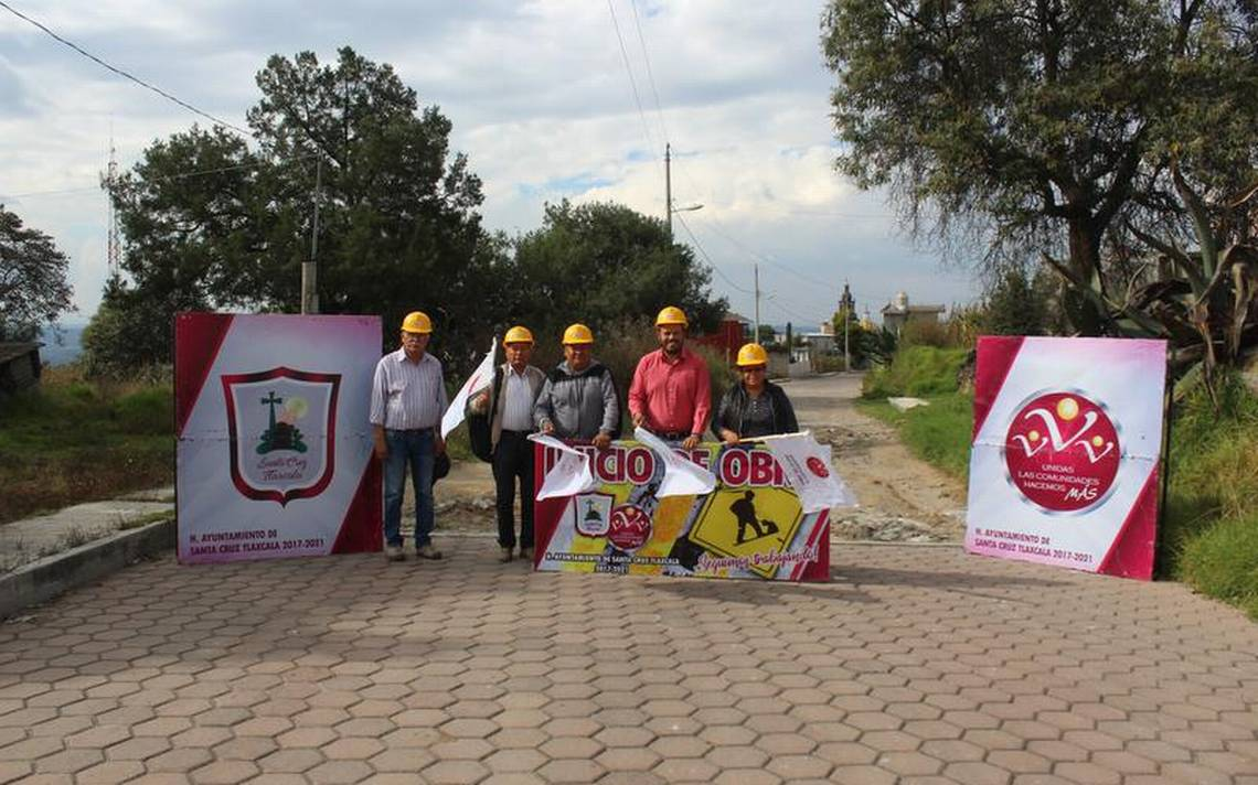 Atraen obras las gestiones: alcalde de Santa Cruz Tlaxcala - El Sol de Tlaxcala