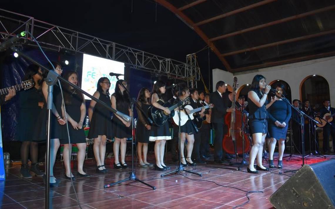Inauguran Festival Musical en Contla - El Sol de Tlaxcala
